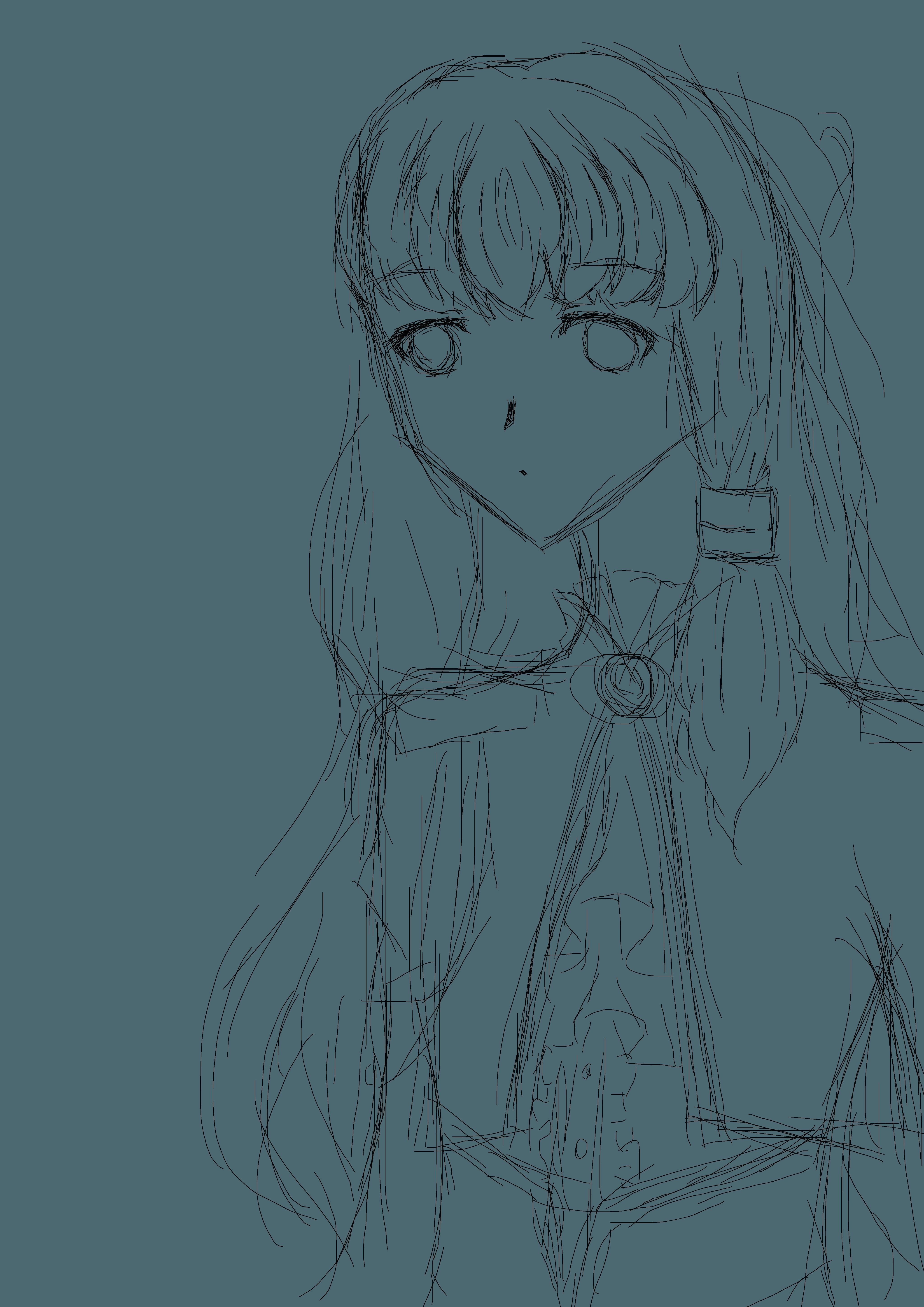 Sketch Yuki Yuna Illustrations Art Street