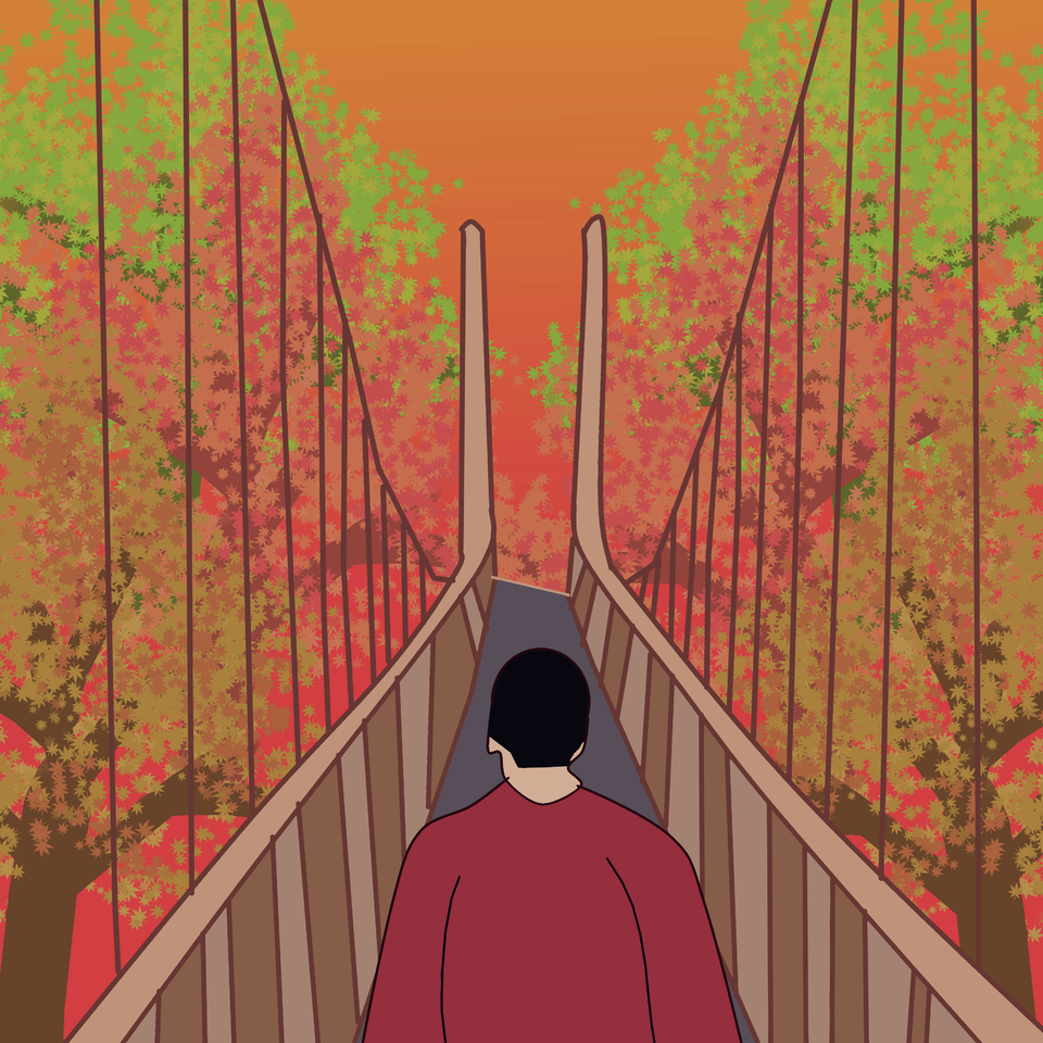 """Alone in Autumn"""