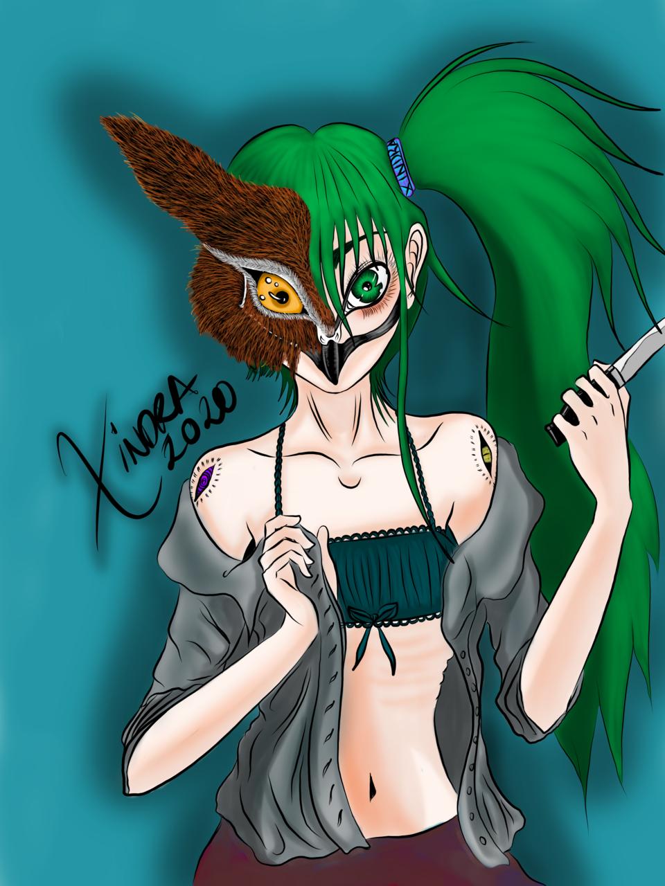 Owl girl Illust of XinSan owlgirl owl Owl