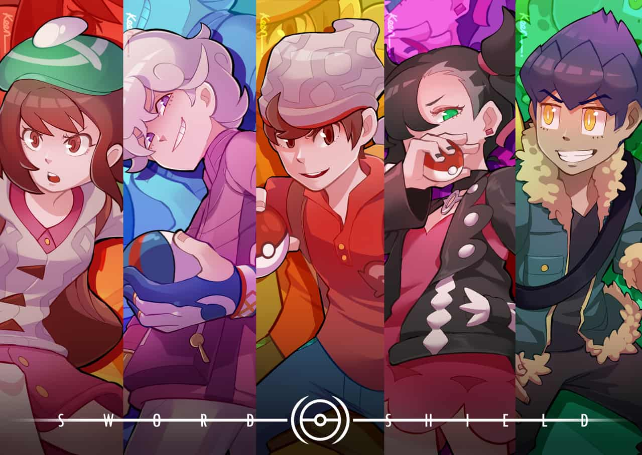 Sword&shield Kids Illust of Kengabr王 pokemon