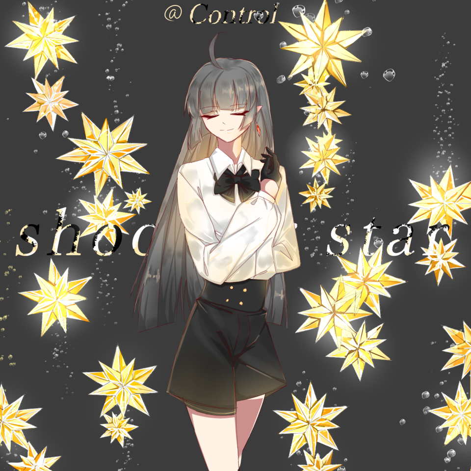 shooting star Illust of 栗米先生 April.2020Contest:Color medibangpaint lazy painting