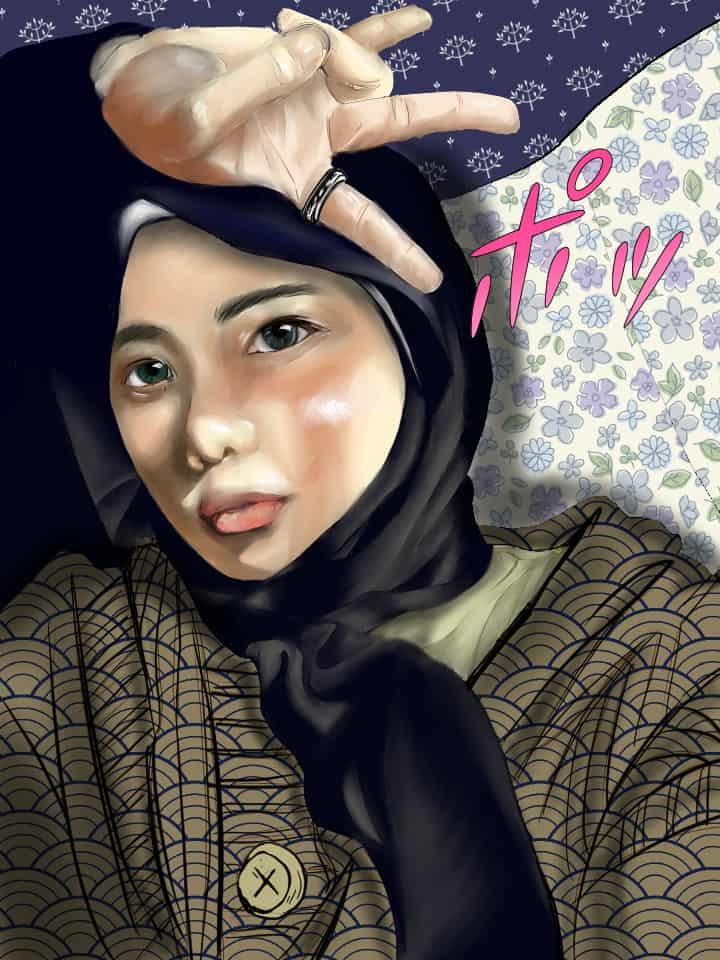 Fira Illust of HobbyLukis MyIdealWaifu_MyIdealHusbandoContest MyIdealWaifu waifu girl beautiful