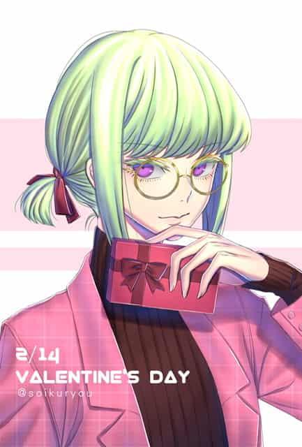 【普羅米亞】2/14情人節 Illust of 死屍 LioFotia ValentinesDay LIO Promare FOTIA