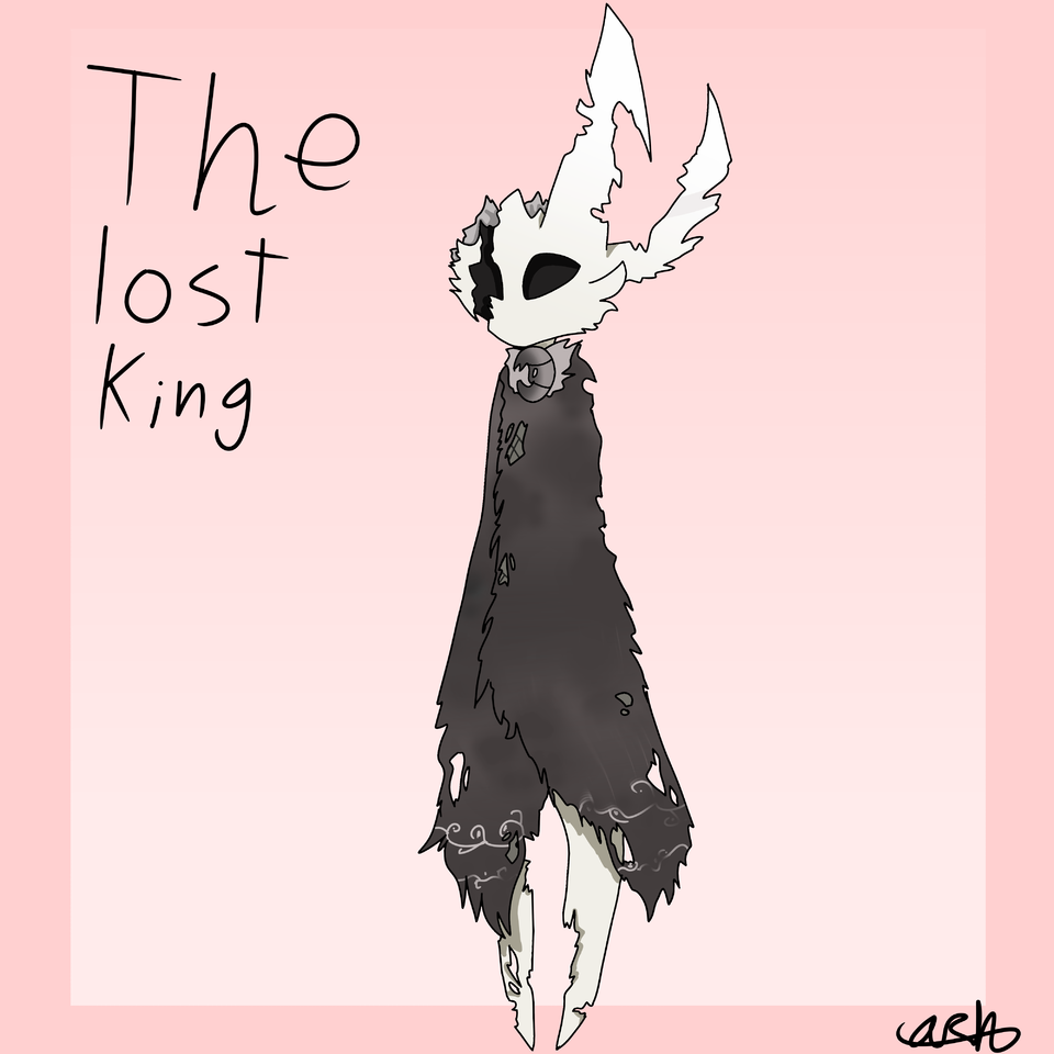gift for Squidkid64  Illust of ❄Ash❄ medibangpaint gift knight Squidkid64 Hollow_Knight the_lost_king hollow