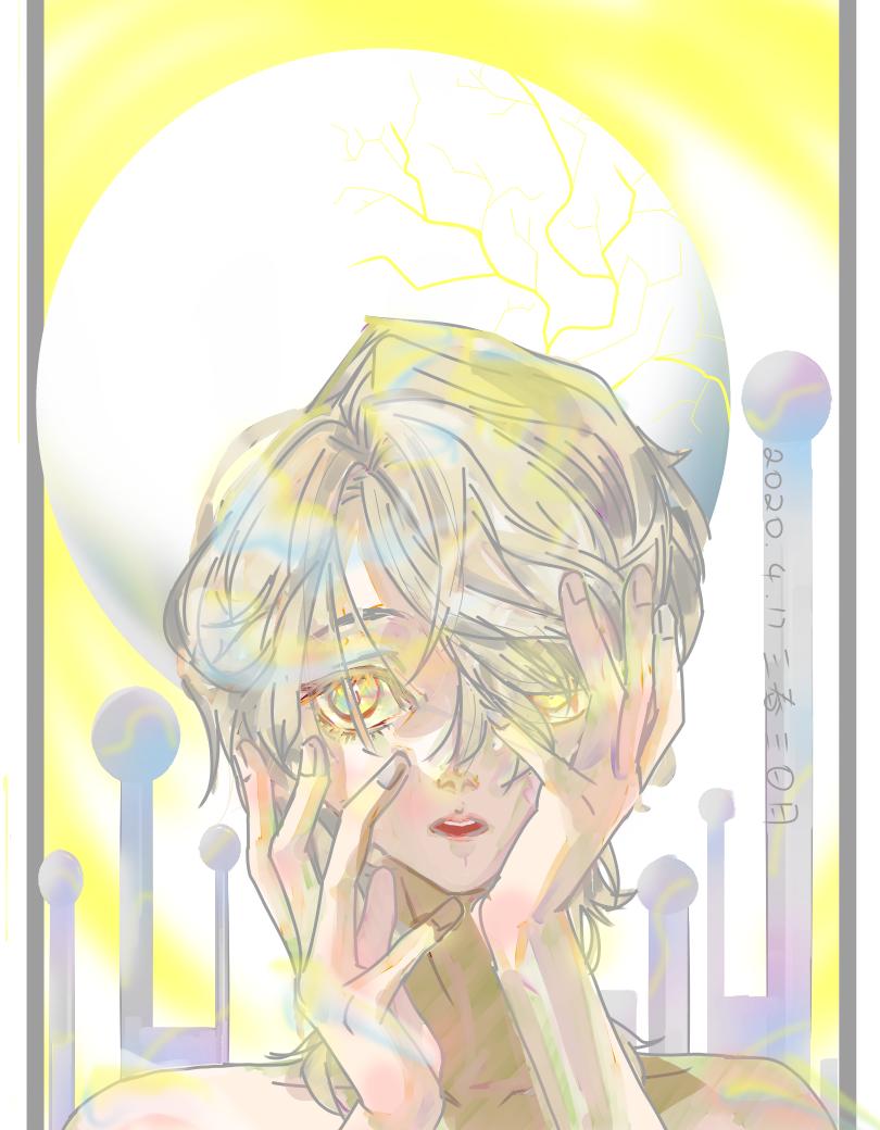 玛丽苏男孩 Illust of 雩月子墨 medibangpaint boy