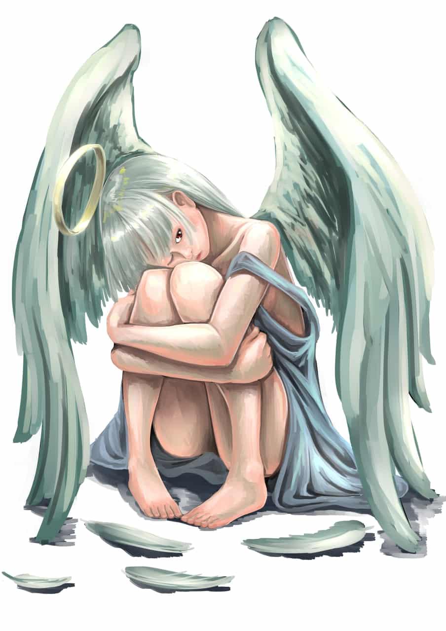 tennshi Illust of HARa original angel girl