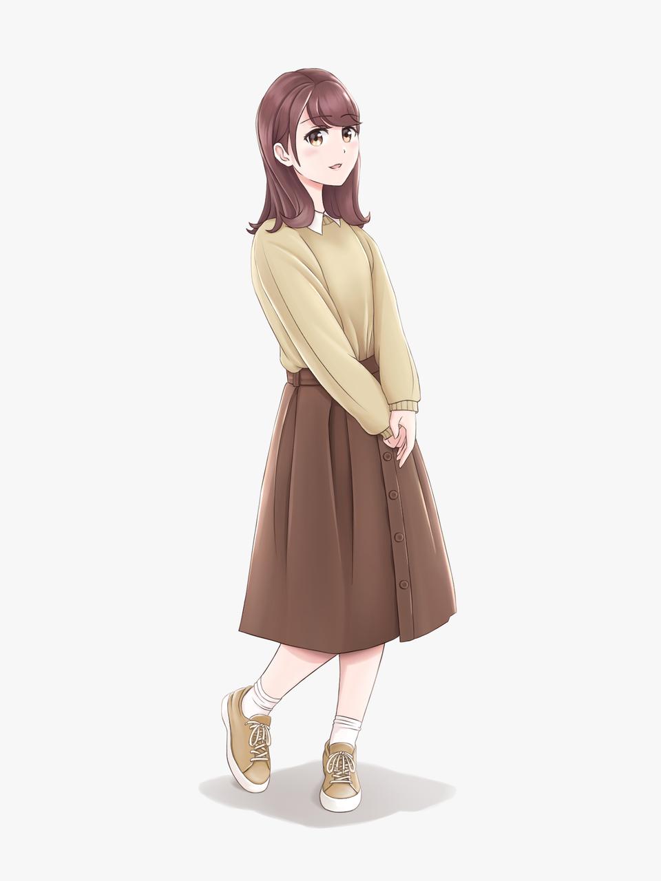 My Ideal Waifu Illust of Yukka MyIdealWaifu_MyIdealHusbandoContest MyIdealWaifu anime girl contest manga character drawing waifu kawaii cute