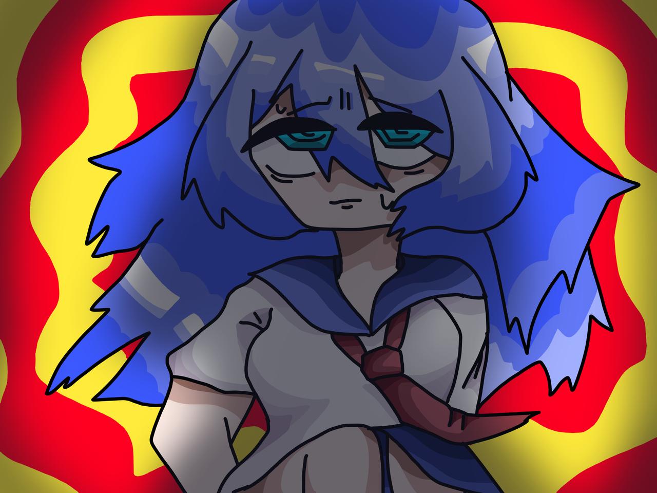 rkgk Illust of 🥩𝕋𝕚𝕦🥩 medibangpaint girl sailor_uniform original ^^