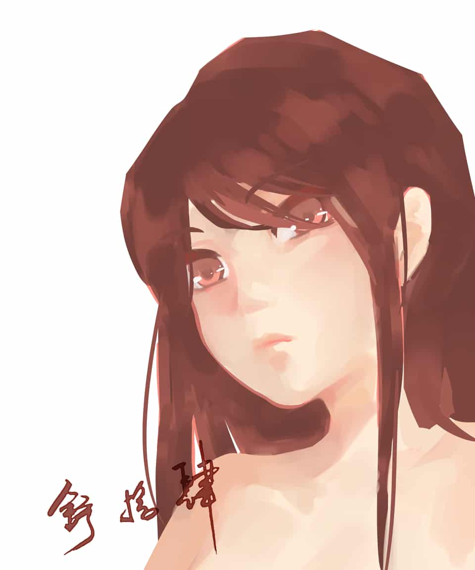 摸鱼 Illust of 舒十四*akalui 速涂 girl 舒十四 original akalui
