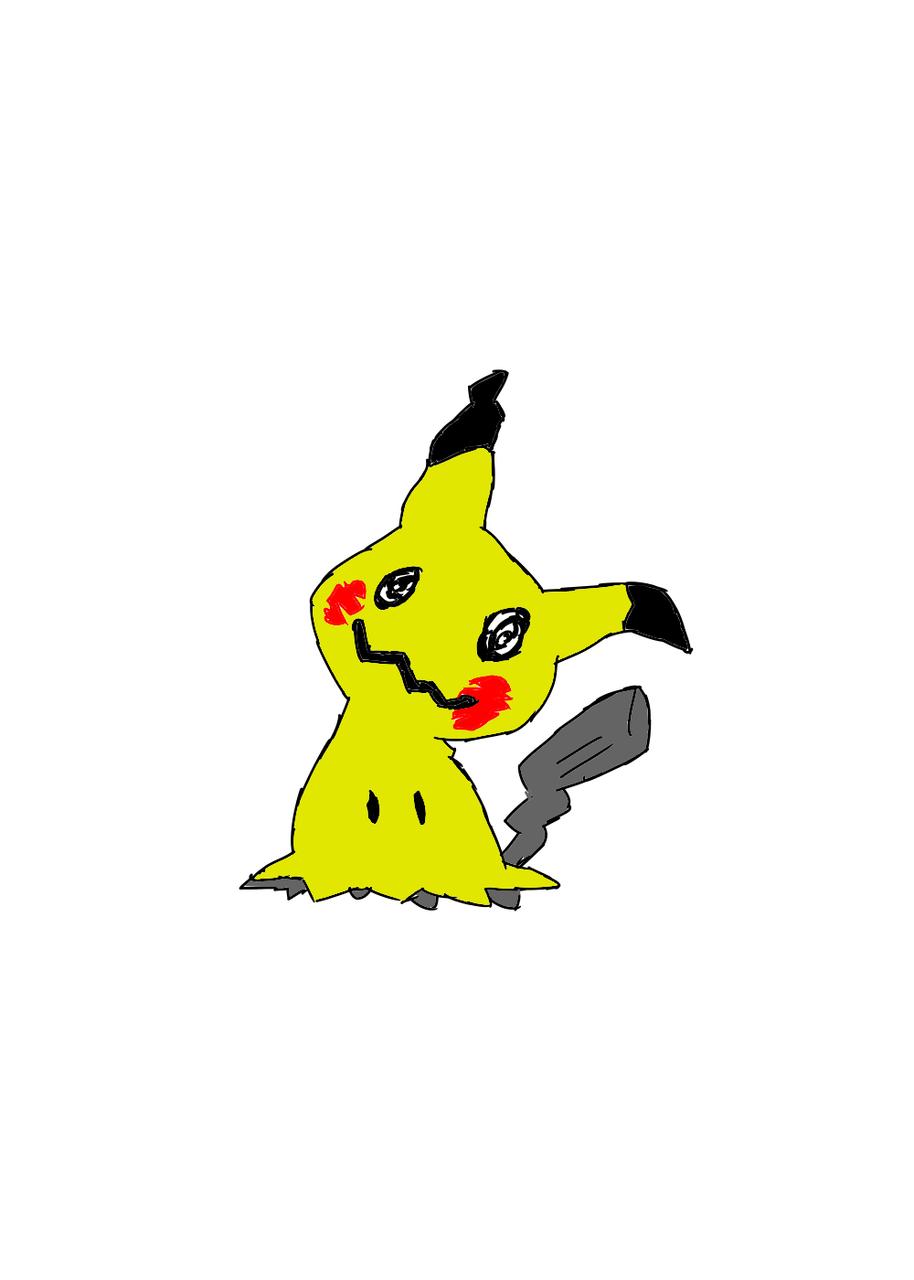 대충그린 따라큐  Illust of 별페니 character pokemon