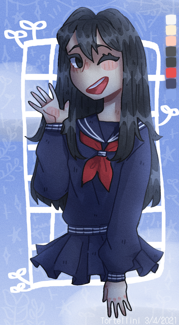 happy birthday Aoi! Illust of Tortellini By_Tortellini happy_birthday Special Aoi