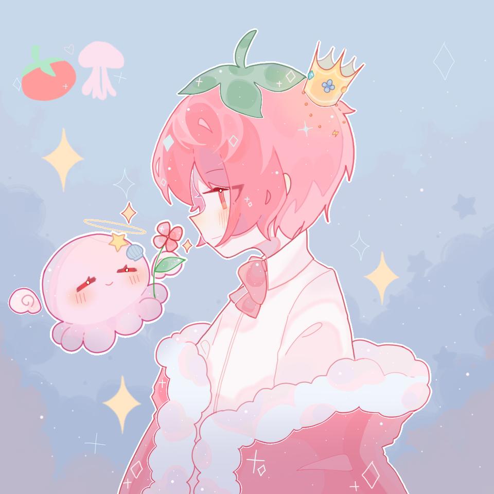 ✨是茄茄和母母..! Illust of 桜庭花莓. medibangpaint B站相关 茄母♡ 母哥 老番茄 茄母