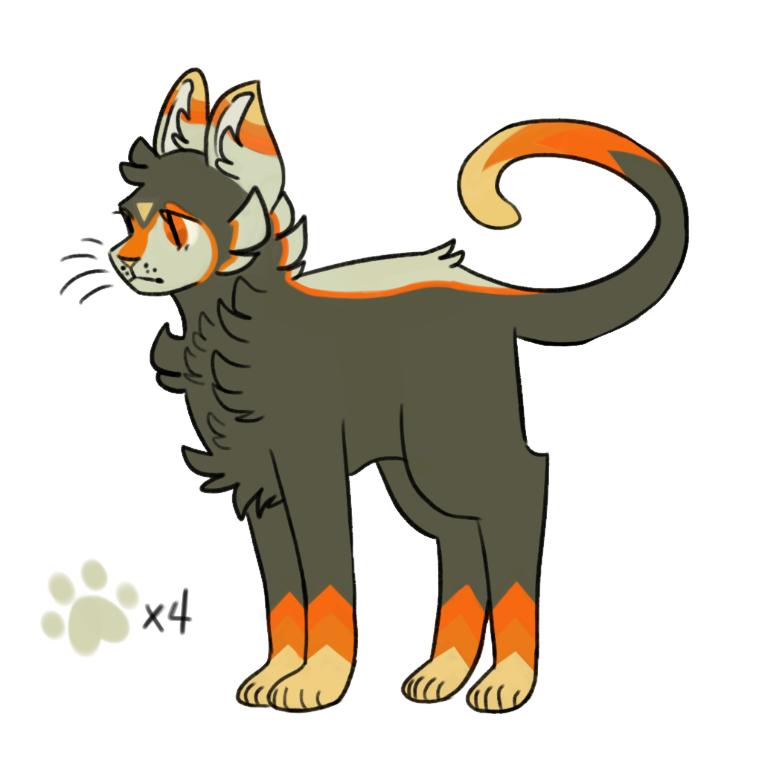 ota Illust of cyrus design cat OTA adopt