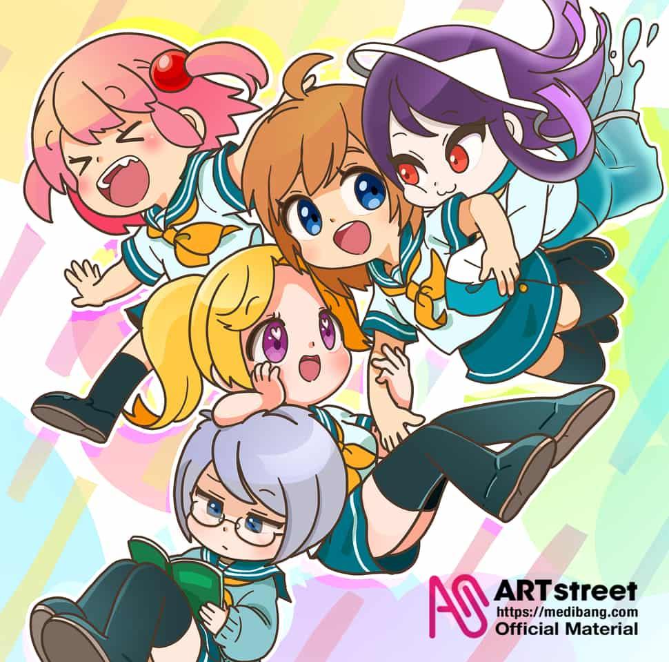 なかよし Illust of ぷん tracedrawing Trace&Draw【Official】