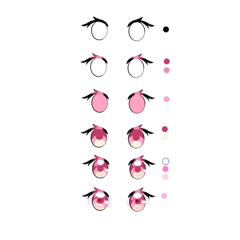 눈채색 Illust of 저너머별에사는덕님최애엘리사라ఇ The_Challengers snow pink 사라 eyes tutorial