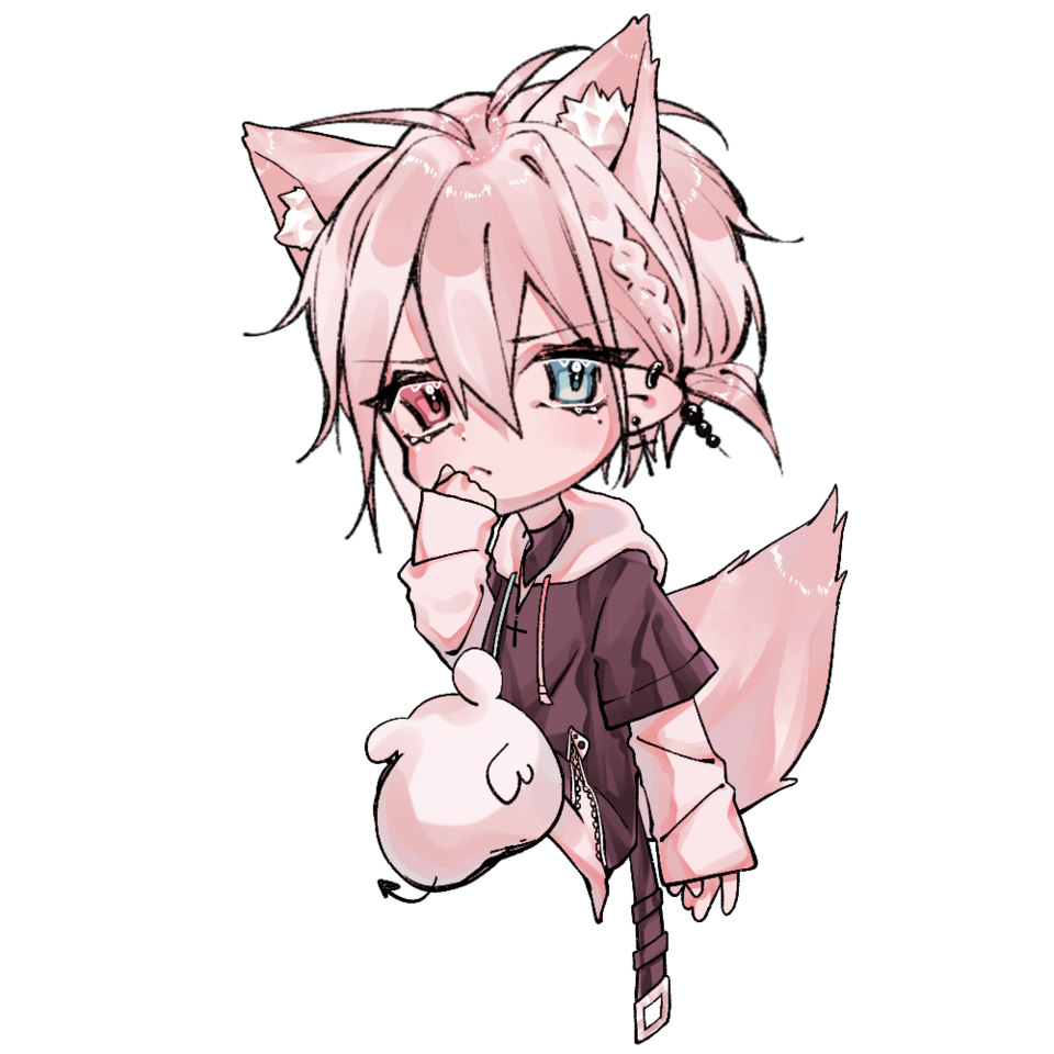 狐の男の子 Illust of 翼 March2021_Creature fox chibi boy