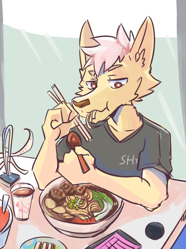 牛肉麵 Illust of 肯尼吉 September2020_Contest:Furry October2020_Contest:Food furry food