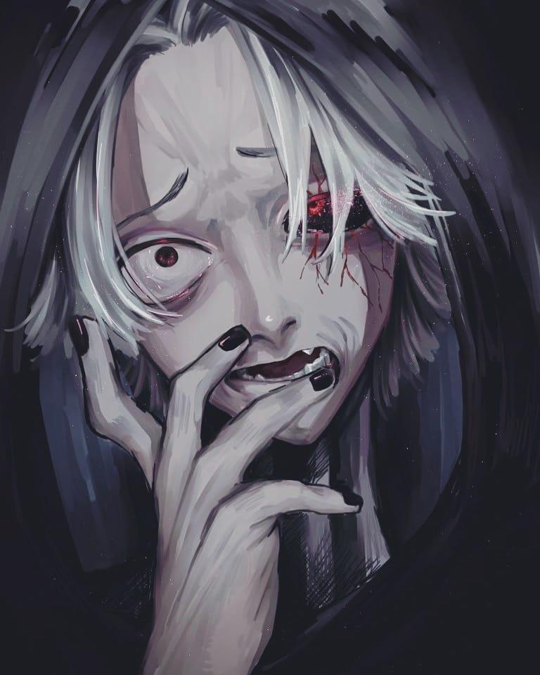 腹ァ減ってんだ Illust of 七味 喰種 tokyo_ghoul 滝澤政道 東京喰種:re オウル