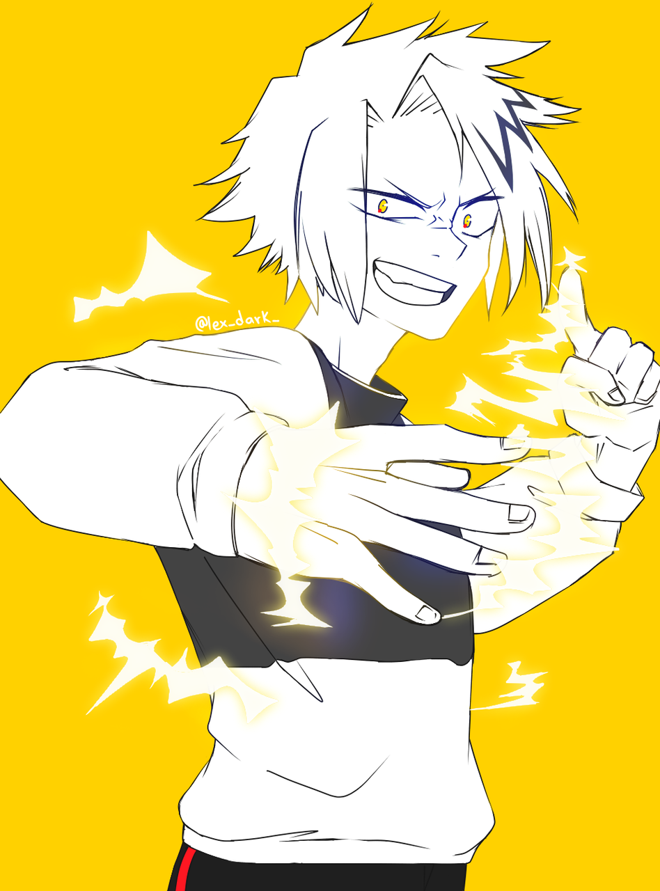 Kaminari Denki Lexus Illustrations Art Street By Medibang