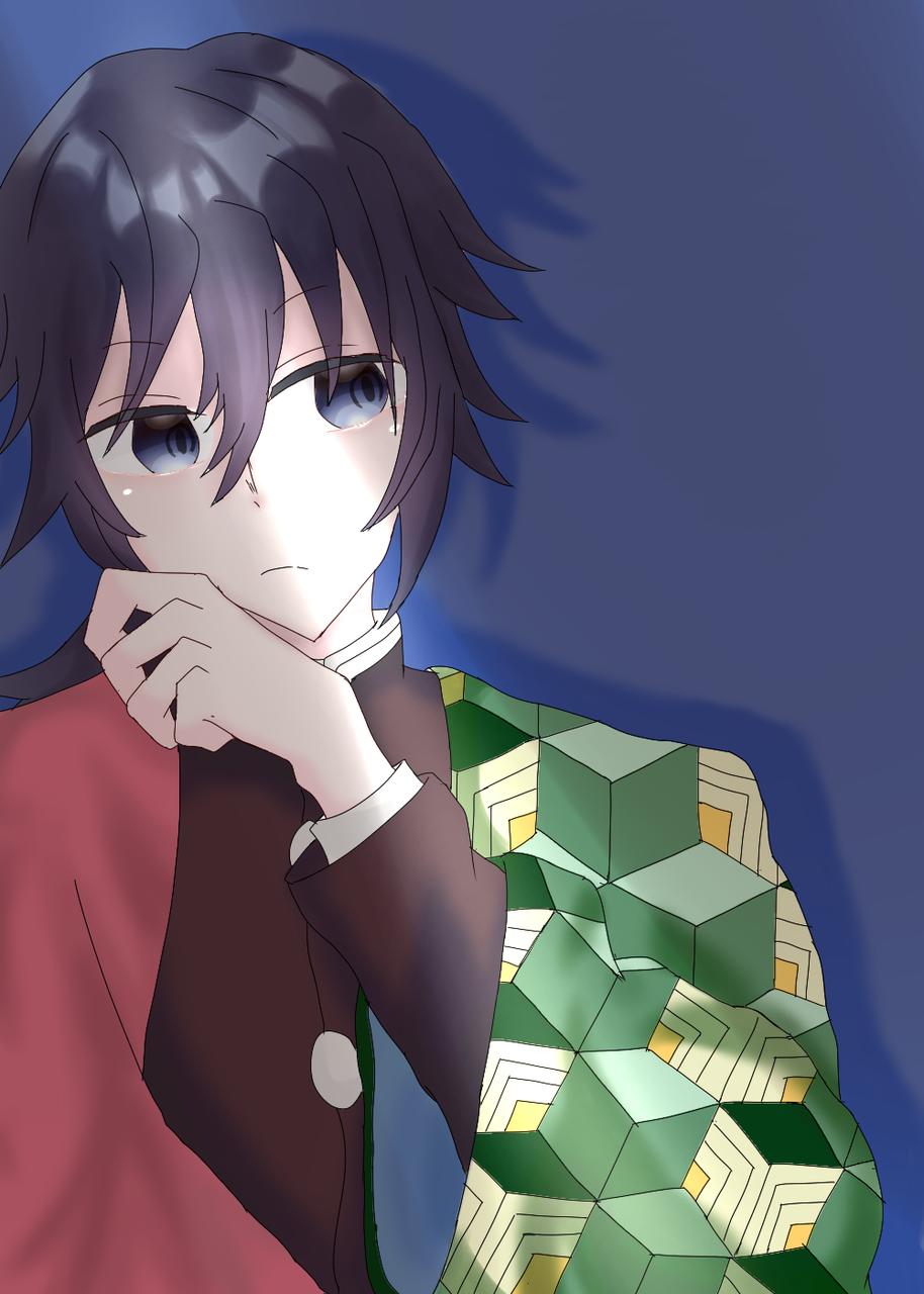 義勇さん(リクエスト) Illust of しししらせ TomiokaGiyuu KimetsunoYaiba 気持ちに画力が追いつかない 疲れた