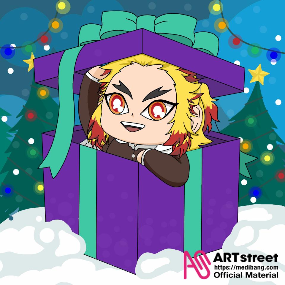 Merry Christmas Rengoku °w° Illust of KasumiLopez Trace&Draw【Official】