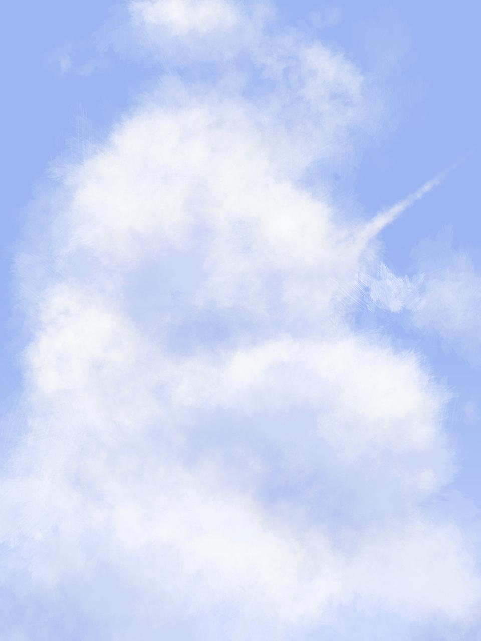 clouds Illust of Tortellini By_Tortellini