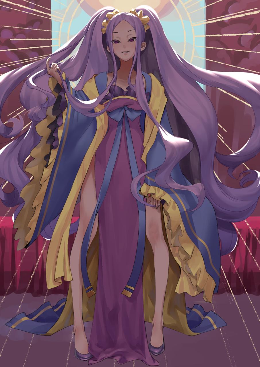 ふーやーちゃん Illust of 97 medibangpaint 不夜城のアサシン ふーやーちゃん Fate/GrandOrder 武則天(Fate)