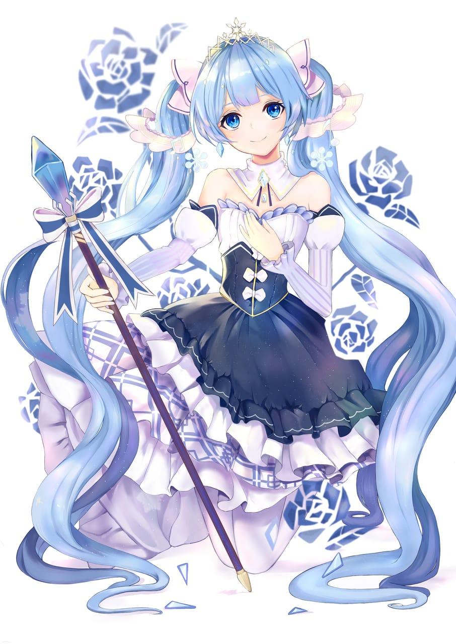 雪ミク Illust of shiina 雪ミク hatsunemiku VOCALOID