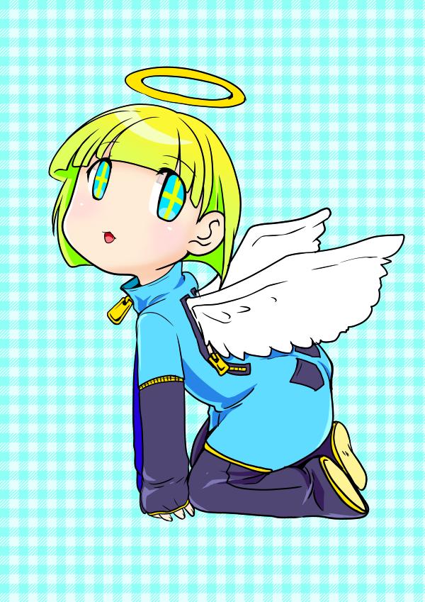 てんし Illust of nekono angel デフォルメ