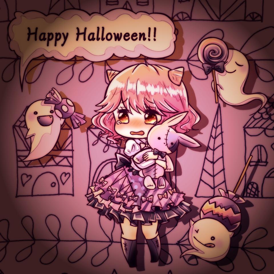 はぴはろ!! Illust of Donguri medibangpaint Halloween girl