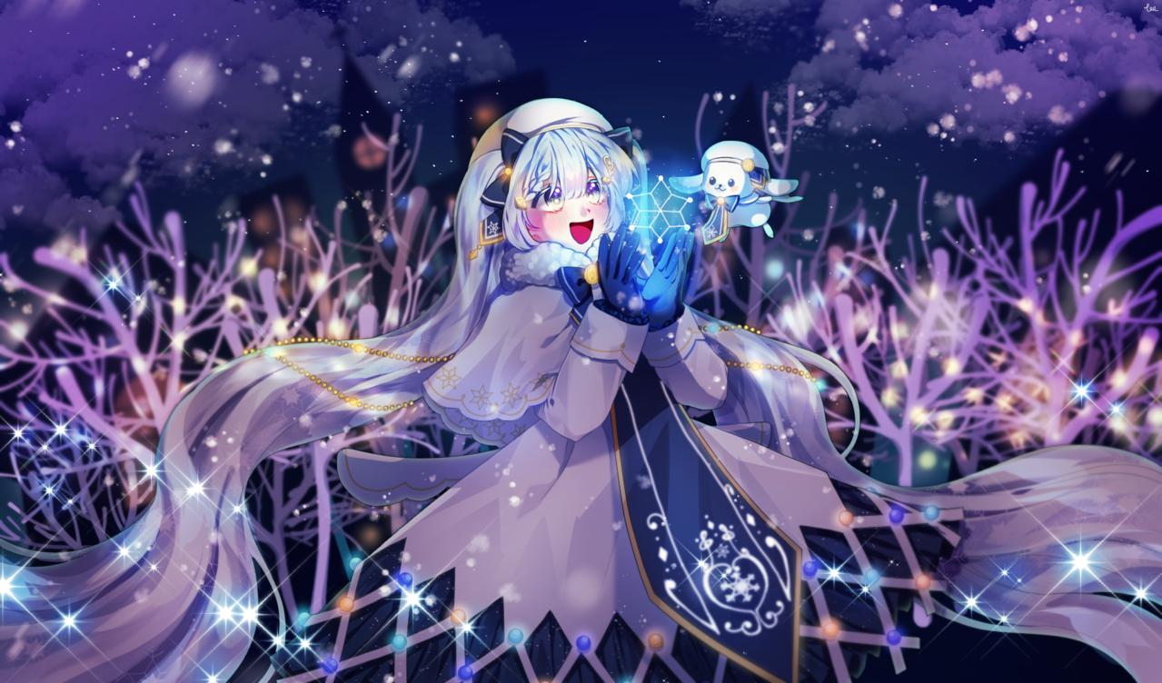 雪ミク Illust of SYUU hatsunemiku