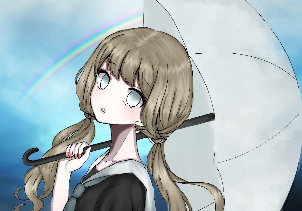 I coloured the line drawing of Milotoka. Illust of Emaan July2020_Contest:Anniversary rainbow