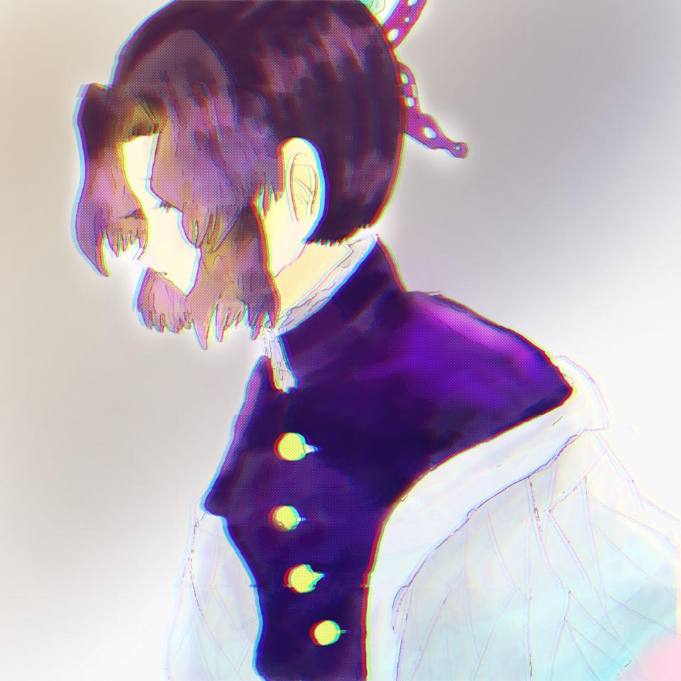 シノブ Illust of ねむこ@発展途上 anime KochouShinobu girl purple digital medibangpaint fanart KimetsunoYaiba medibang おんなのこ