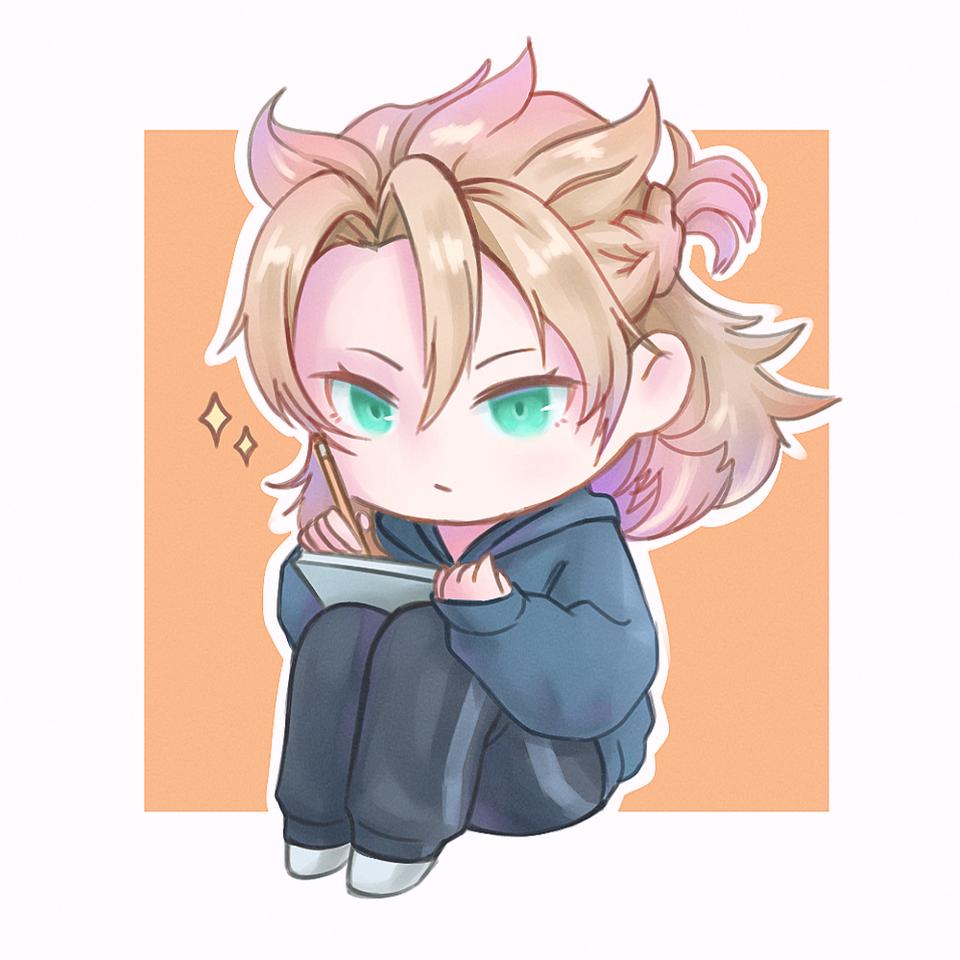 Albedo❤️ Illust of cute medibangpaint