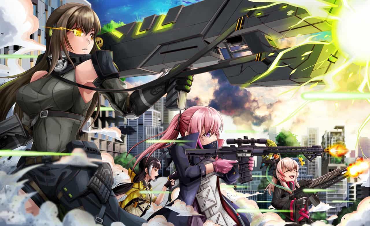 少女前線-M4A1 Illust of 一撇 Girls'Frontline ドルフロ