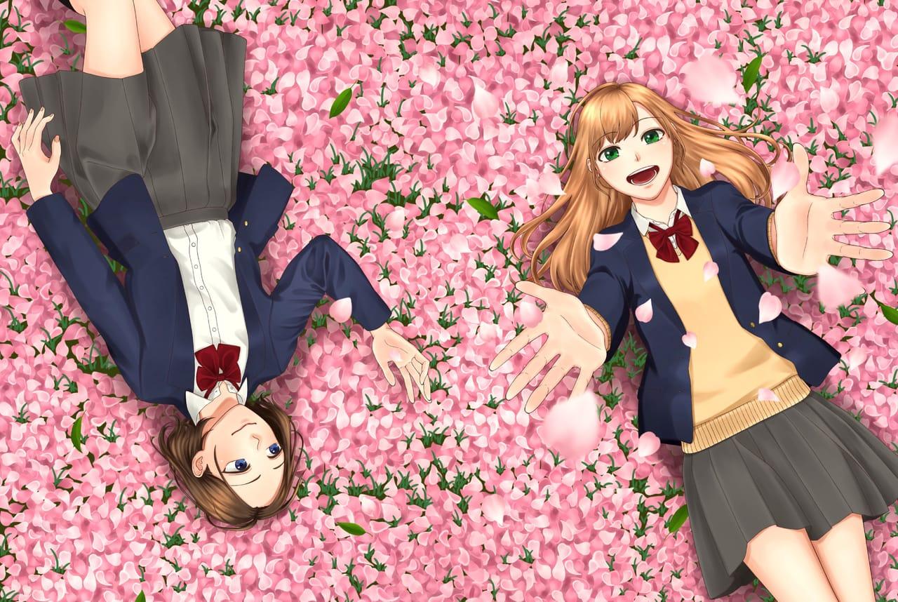 春、新学期 Illust of らんこ ART_street_Illustration_Book_Contest uniform girl 春