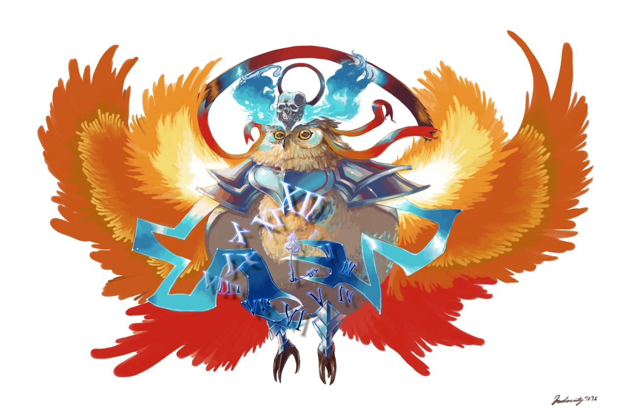 時間支配者 Illust of 平庸人 March2021_Creature monster