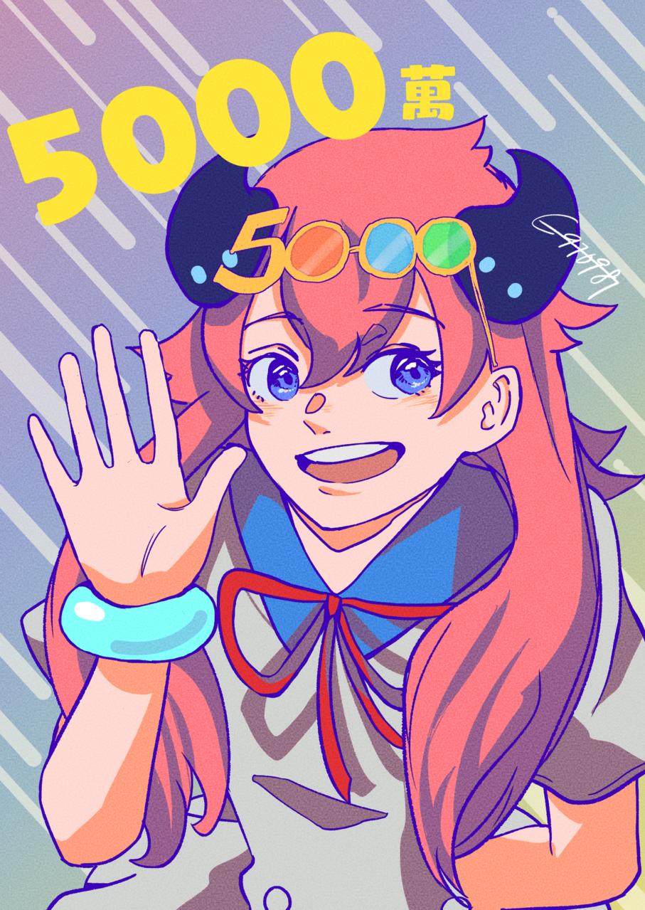 5000!! Illust of 獨白草 medibangpaint5000