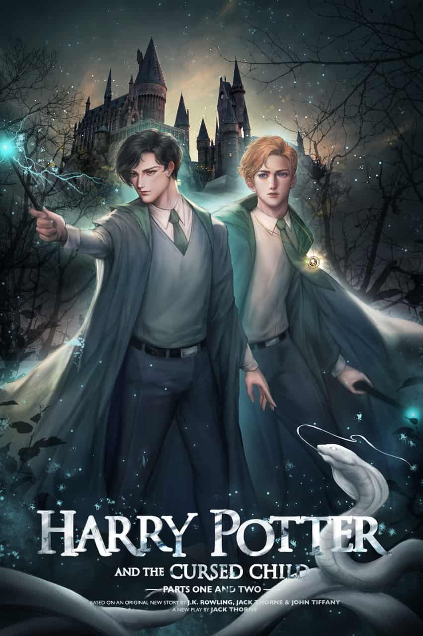 Harry Potter and the Cursed Child Illust of Eden Chang fanart HarryPotter