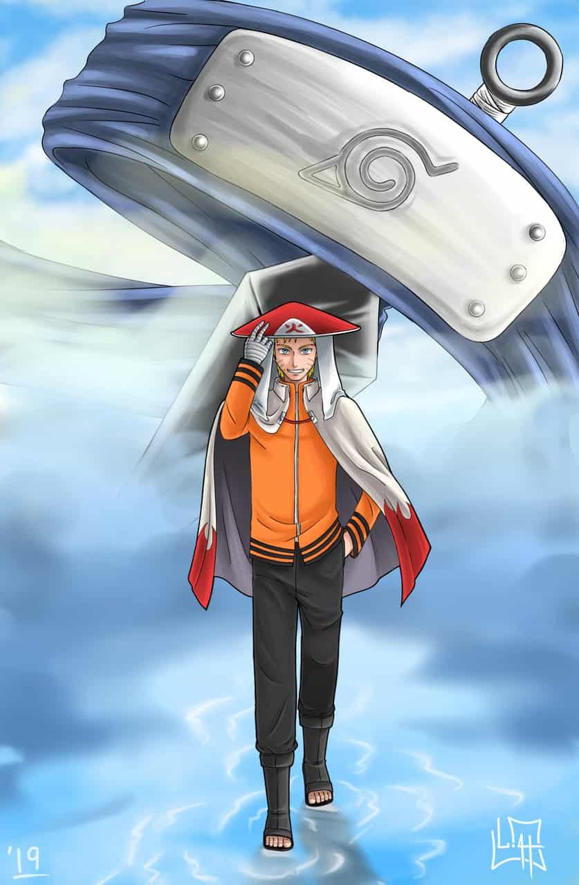 """CAMINO NINJA"" Naruto hokage"