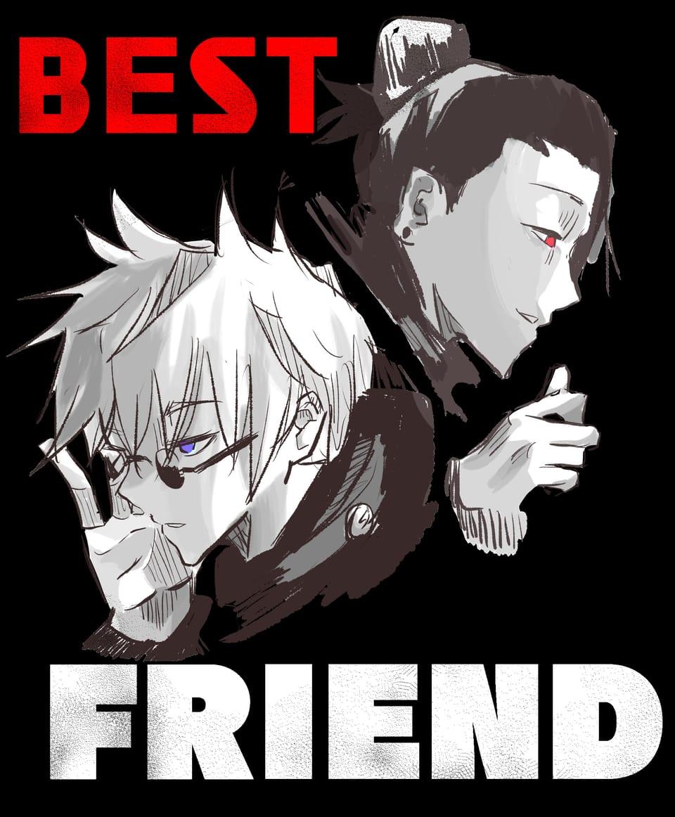 BEST FRIEND Illust of 새싹난감자 JujutsuKaisenFanartContest JujutsuKaisen