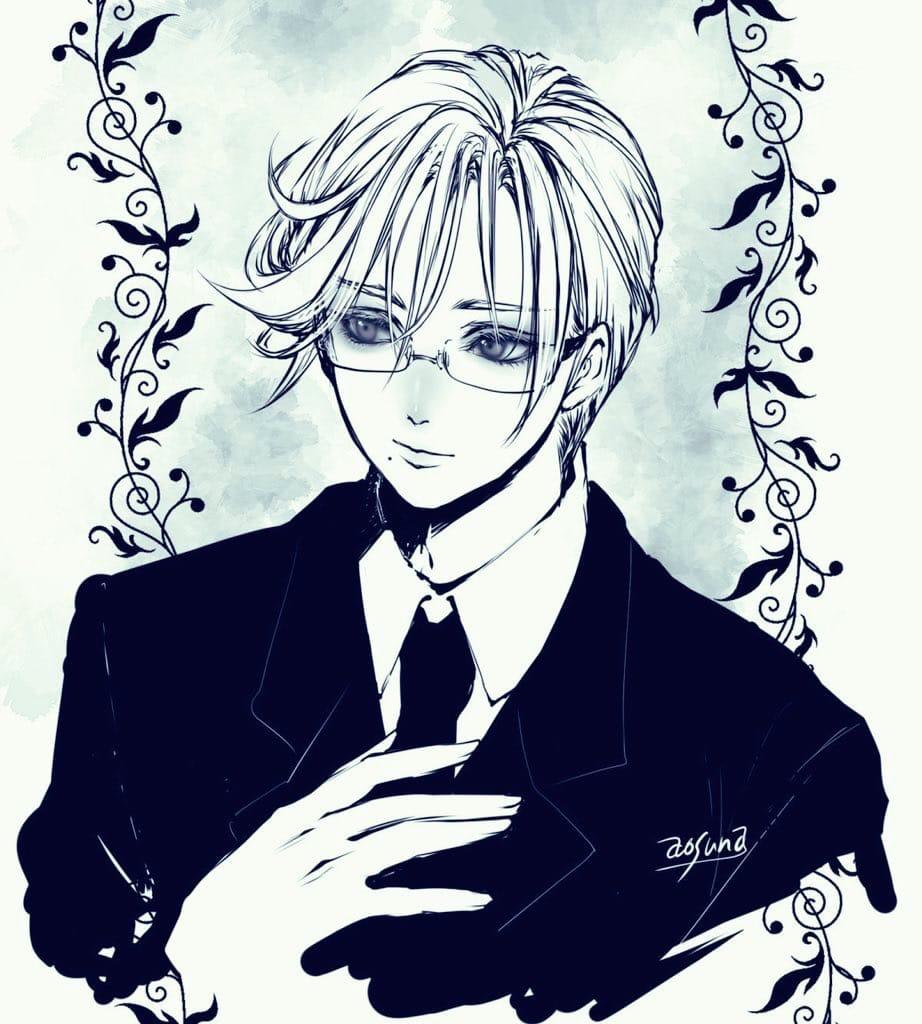眼鏡 Illust of 青砂時計 oc glasses suit original