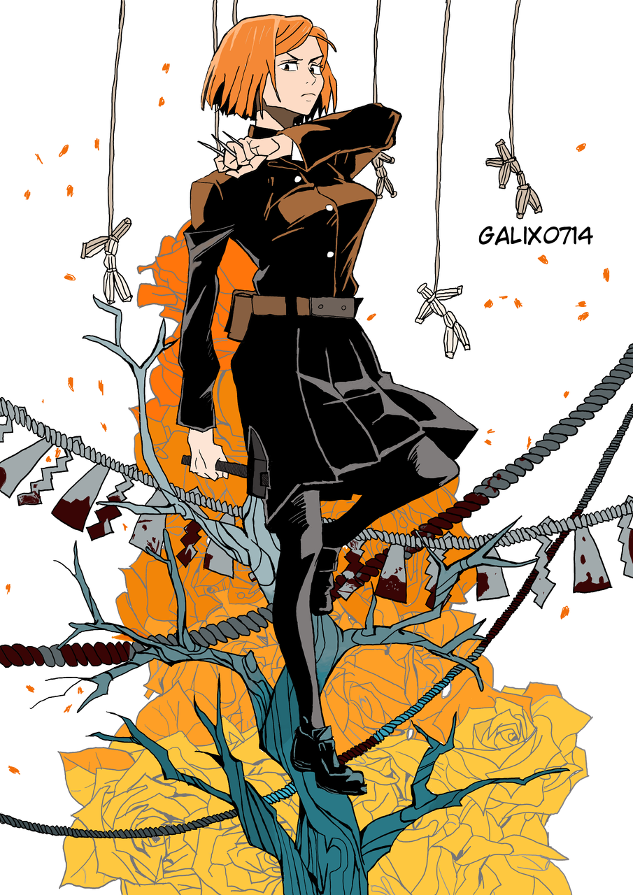 Nobara Kugisaki Illust of Galix0714 JujutsuKaisenFanartContest medibangpaint Nobara_Kugisaki