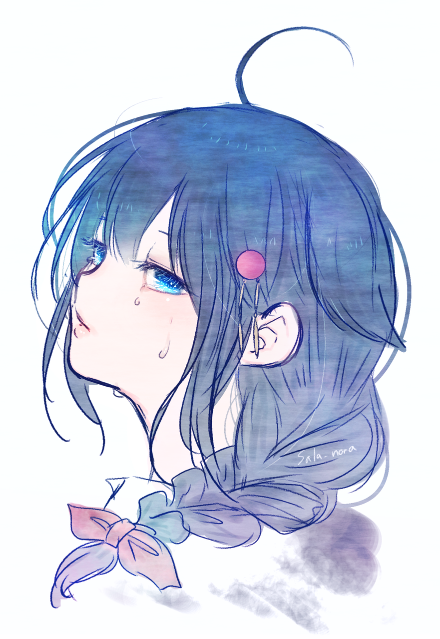 Cry Illust of nora Amazing cute great 正月 💯