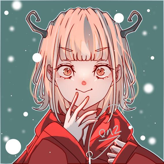 Practice Illust of ☠🎀ごんざれす🎀💊 kawaii demon きらきら girl