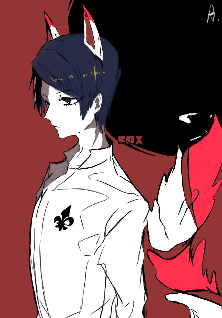 临摹作品 Persona 5 - Fox