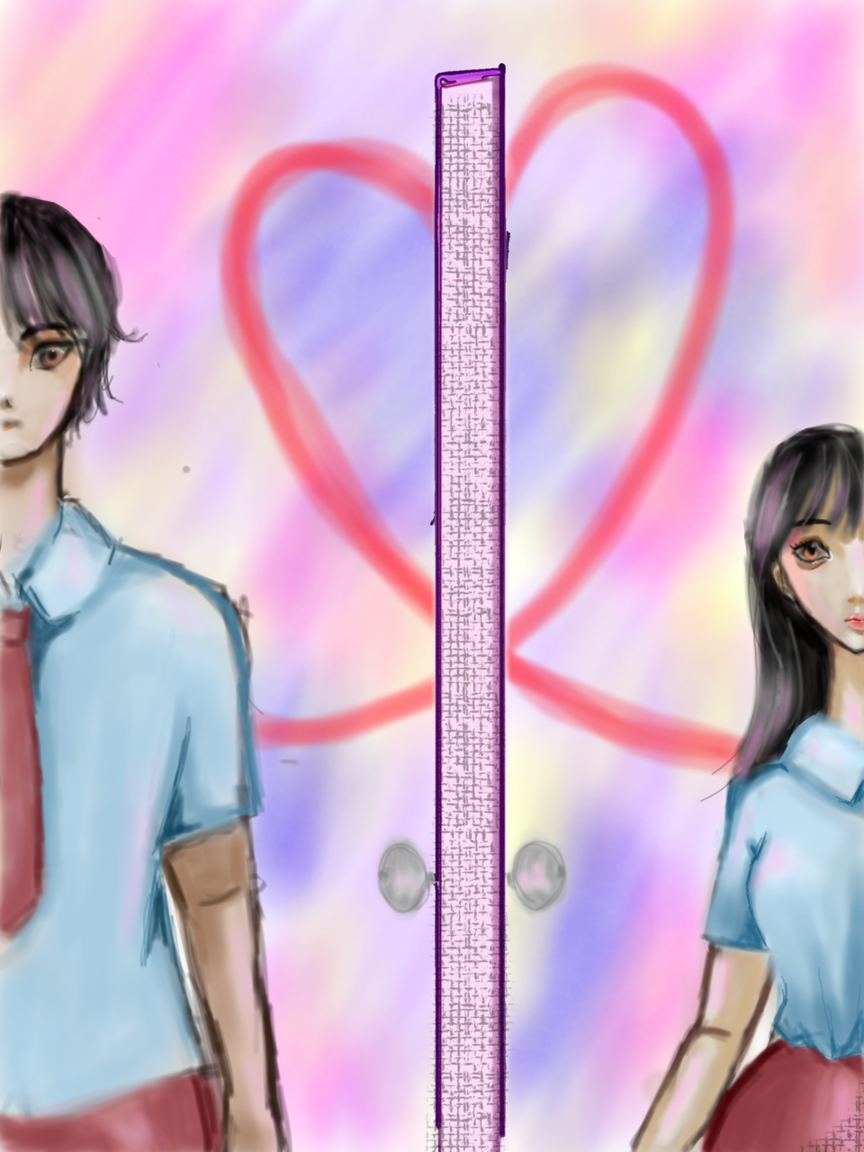 The Door to my Heart~Open Heart~① Illust of Stlo GOMABOOKS_Contest