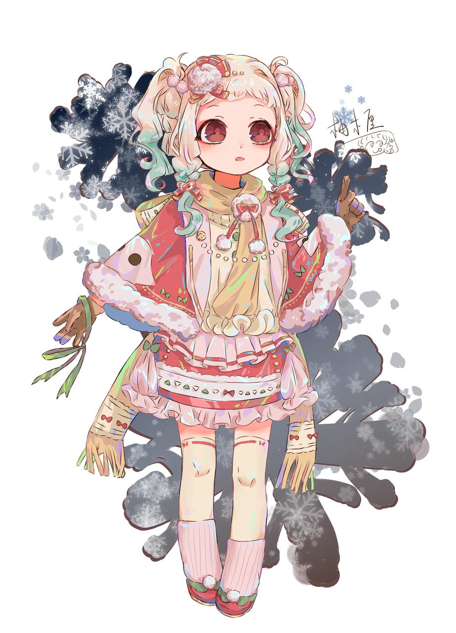 冬日宁宁 Illust of 柚木厘 medibangpaint NeneYashiro Toilet-boundHanako-kun 同人