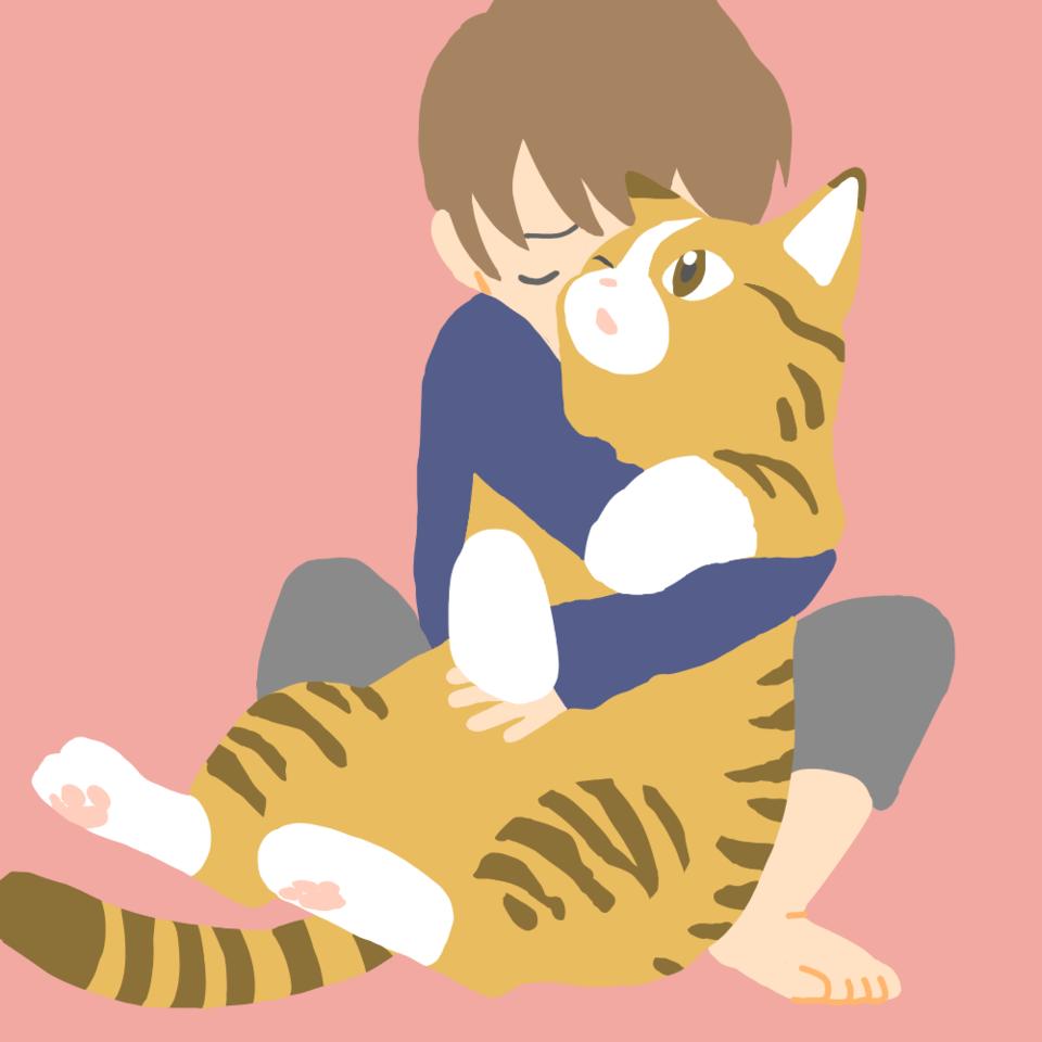 さみしい時 Illust of 大森喜悦 cat レッツワンドロ