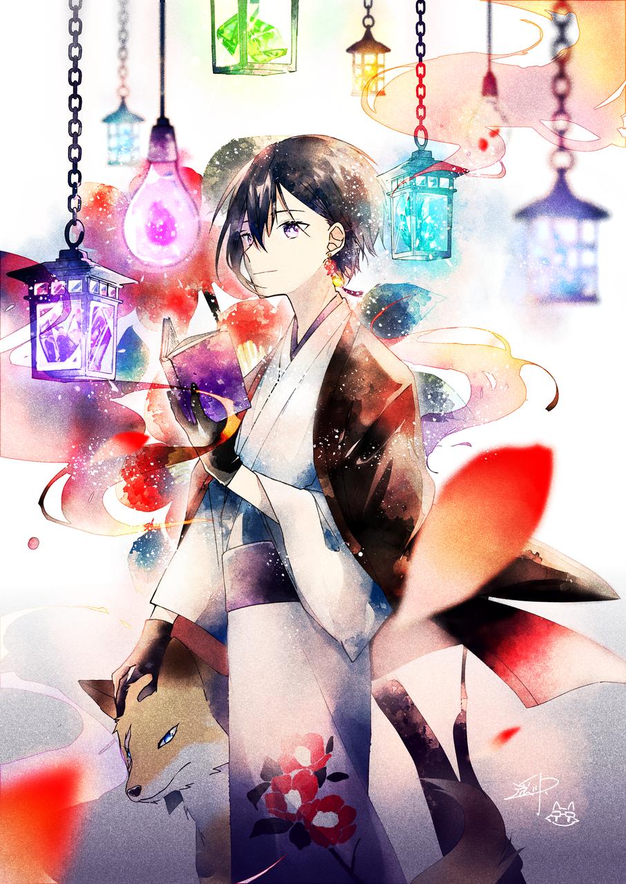 椿の怪 Illust of 遥川遊 medibangpaint Japanese_style original